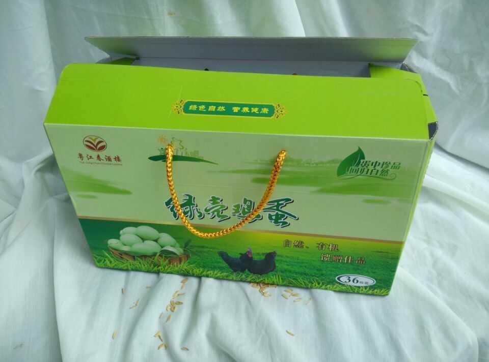 粤江春绿壳鸡蛋礼盒